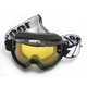 Black Accuri Tornado Snow Goggle w/Yellow Lens - 50203-059-02
