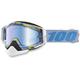 Racecraft Hyperloop Snow Goggle w/Dual Mirror Blue Lens - 50113-193-02