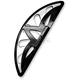 Black Spiro Series Passenger Floorboards - FB-RSS-B