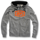 Gunmetal Heather Syndicate Zip Hoody