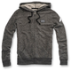 Womens Heather Gray Bryant Zip Hoody