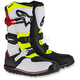 White/Red/Flo Yellow/Black Tech T Boots