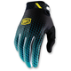 Supra Teal Ridefit Gloves