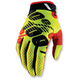 Neon Yellow/Black Ridefit Gloves
