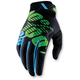 Black/Lime Ridefit Gloves