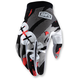 Gray/White/Red I-Track Magemo Gloves