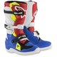 Blue/White/Red/Flo Yellow Youth Tech 7S Boots
