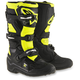 Black/Flo Yellow Youth Tech 7S Boots