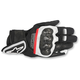 Black/White/Red Rage Drystar Gloves