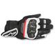 Black/White/Red Rage Drystar Gloves