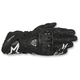Black GP Pro R2 Leather Gloves
