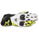 Black/White/Flo Yellow GP Pro R2 Leather Gloves