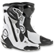Black/White SMX Plus Vented Boots
