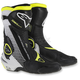 Black/White/Flo Yellow SMX Vented Boots