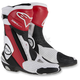 Black/Red/White SMX Plus Vented Boots