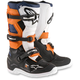 Black/Orange/White/Blue Youth Tech 7S Boots