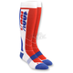 White Hi Side MX Socks