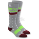 Womens Grey Groove Socks - 24201-007-01