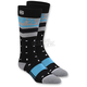 Womens Black Groove Socks - 24201-012-01