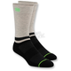 Black Block Athletic Crew Socks