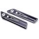 Reverse Cut V-Line Saddlebag Hinge Covers - TM-072RC