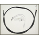 Black Pearl Braided High Efficiency Clutch Cable - 422810