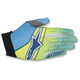 Flo Yellow/Cyan/Dark Blue Aviator Gloves