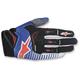 Blue/White/Red Techstar Gloves
