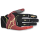 Red/White/Flo Yellow Techstar Gloves