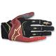 Red/White/Flo Yellow Techstar Gloves