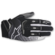 Black/White Techstar Gloves