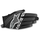 Black/White Radar Tracker Gloves