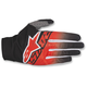 Black/Red/White Dune-2 Gloves