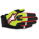 Flo Yellow/Black/Red Racefend Gloves