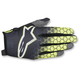 Youth Anthracite/Flo Yellow/Light Gray Radar Flight Gloves