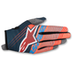 Youth Petrol Blue/Aqua/Flo Orange Radar Tracker Gloves