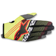Youth Flo Yellow/Black Radar Tracker Gloves