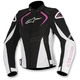 Black/White/Pink Womens Stella T-Jaw Waterproof Jacket