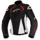 Black/White/Red Womens Stella T-Jaw Waterproof Jacket