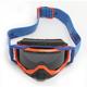 Blue/Orange Radius Pro Peak Goggles w/ Smoke Polarized Lens - 7000-003-000-003