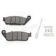 Rear Semi-Metallic Brake Pads - 1721-2257