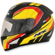 Black/Red/Yellow FX-95 German Helmet