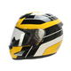 Yellow/Black/White FX-95 Vintage Yamaha Helmet