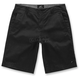 Black Reflex Solid Shorts