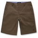 Army Green Reflex Solid Shorts