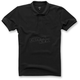 Black Effortless Polo Shirt