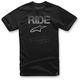 Black Ride Splatter T-Shirt
