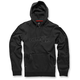 Black Determine Fleece Hoody