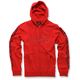 Red Determine Fleece Hoody