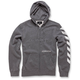 Heather Gray Debrief Fleece Hoody